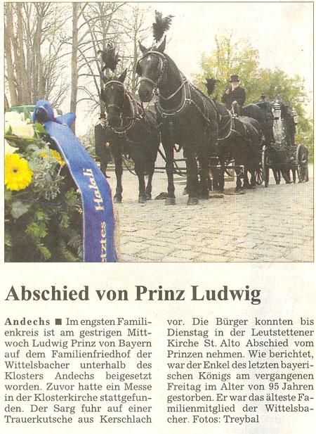Familia Real de Baviera | Actualidad - Página 3 Zeitung2